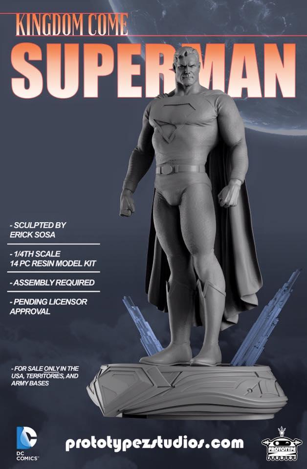 Kingdom Come Superman - Statue 1/4 Kingdom_Come_Superman-PrototypeZ_Studios-Erick_Sosa-001