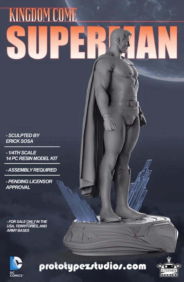 Kingdom Come Superman - Statue 1/4 Kingdom_Come_Superman-PrototypeZ_Studios-Erick_Sosa-002