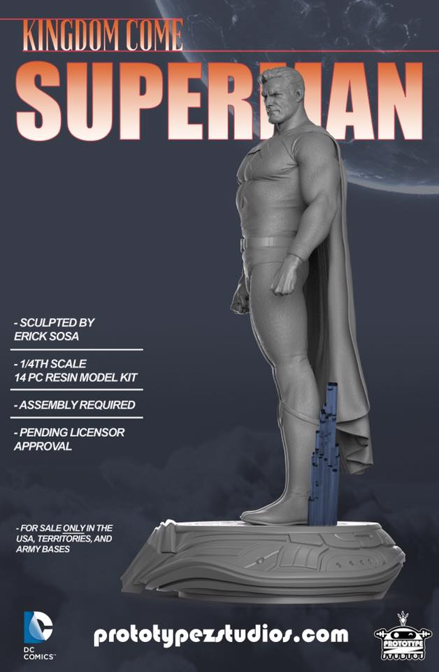 Kingdom Come Superman - Statue 1/4 Kingdom_Come_Superman-PrototypeZ_Studios-Erick_Sosa-003