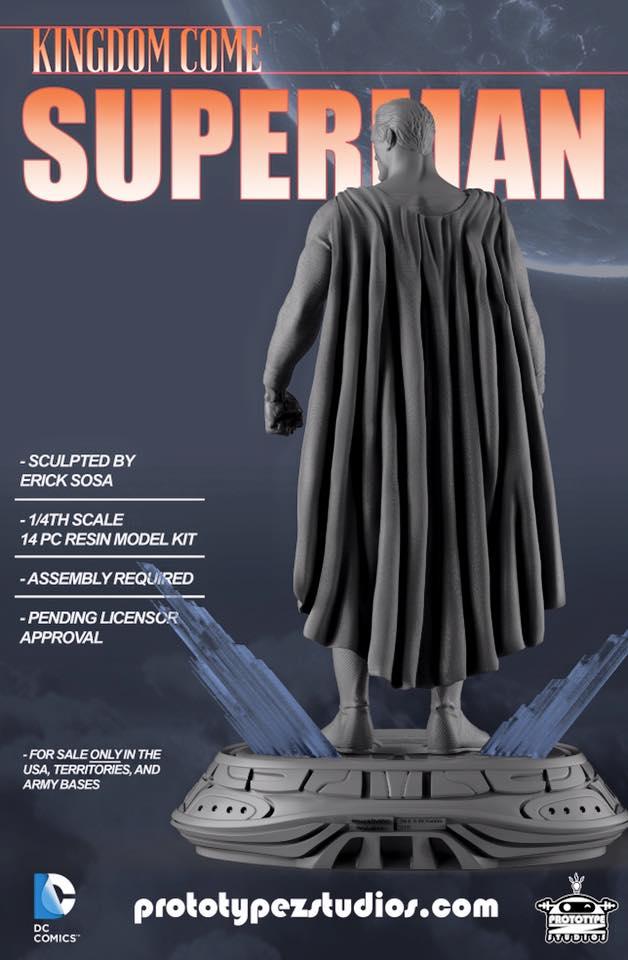 Kingdom Come Superman - Statue 1/4 Kingdom_Come_Superman-PrototypeZ_Studios-Erick_Sosa-004