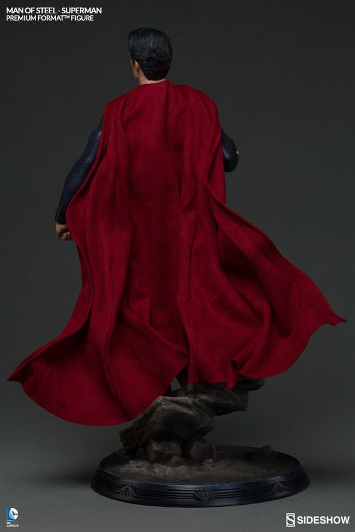 MAN OF STEEL SUPERMAN PREMIUM FORMAT FIGURE Man-of-steel-superman-premium-format-300351-06