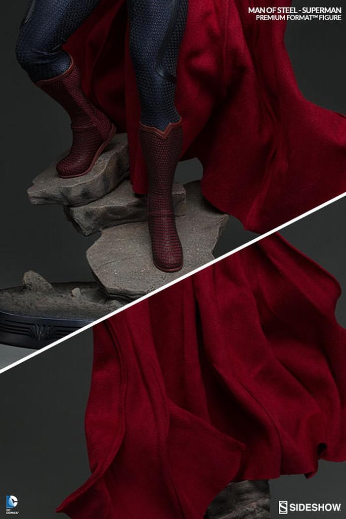 MAN OF STEEL SUPERMAN PREMIUM FORMAT FIGURE Man-of-steel-superman-premium-format-300351-09