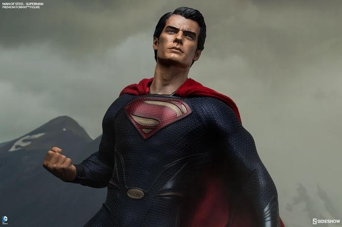MAN OF STEEL SUPERMAN PREMIUM FORMAT FIGURE Man-of-steel-superman-premium-format-300351-10