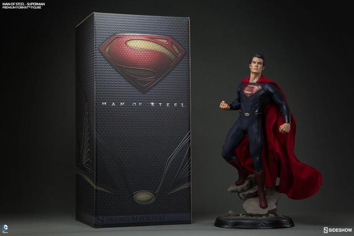 MAN OF STEEL SUPERMAN PREMIUM FORMAT FIGURE Man-of-steel-superman-premium-format-300351-13