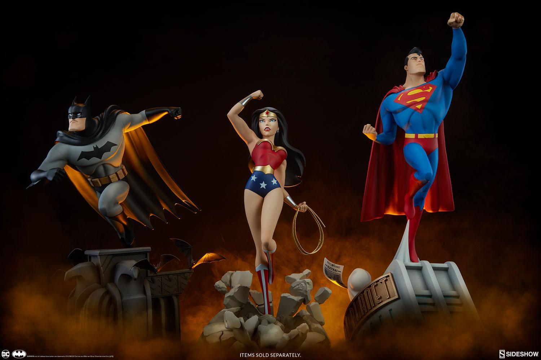 BATMAN  Animated series  Statue Dc-comics-batman-animated-series-collection-statue-sideshow-200542-26