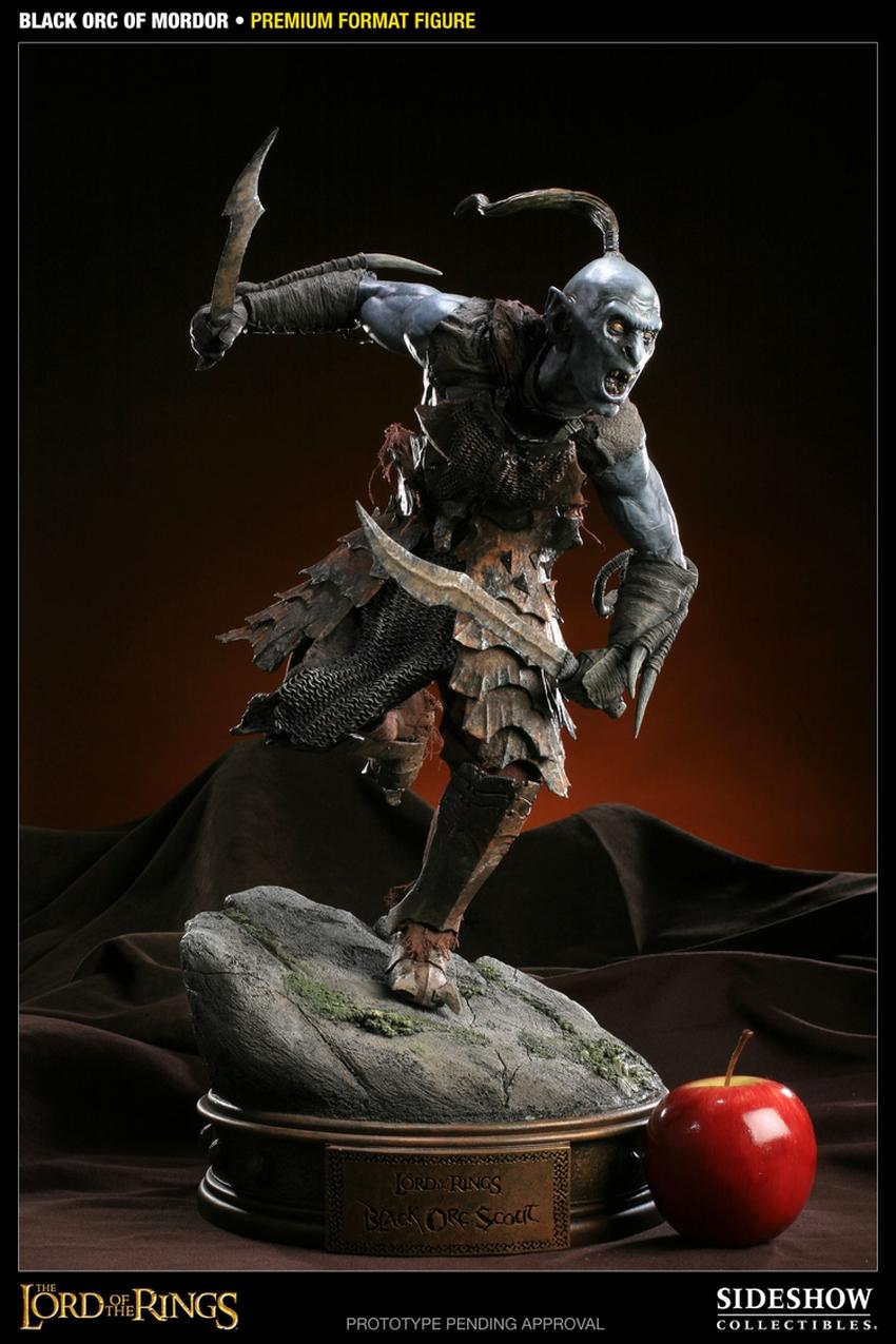 LOTR: BLACK ORC OF MORDOR Premium format Black-orc-of-mordor-premium-300075_press-02