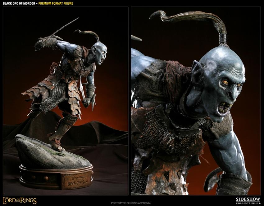 LOTR: BLACK ORC OF MORDOR Premium format Black-orc-of-mordor-premium-300075_press-03
