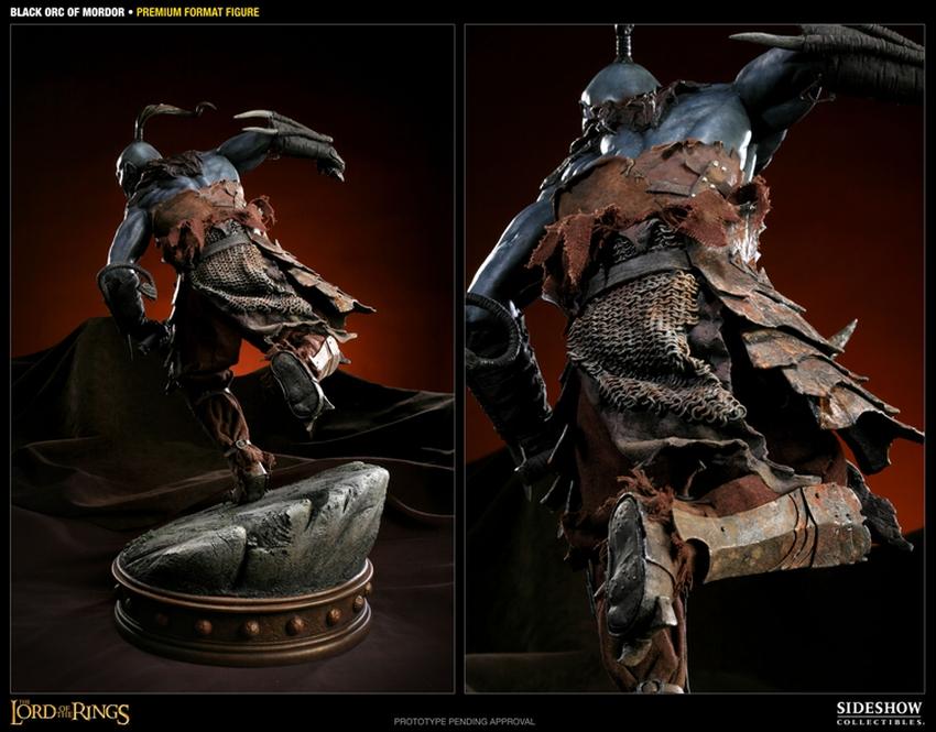 LOTR: BLACK ORC OF MORDOR Premium format Black-orc-of-mordor-premium-300075_press-04