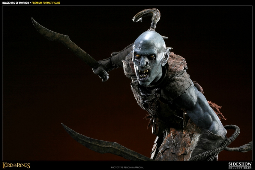LOTR: BLACK ORC OF MORDOR Premium format Black-orc-of-mordor-premium-300075_press-06