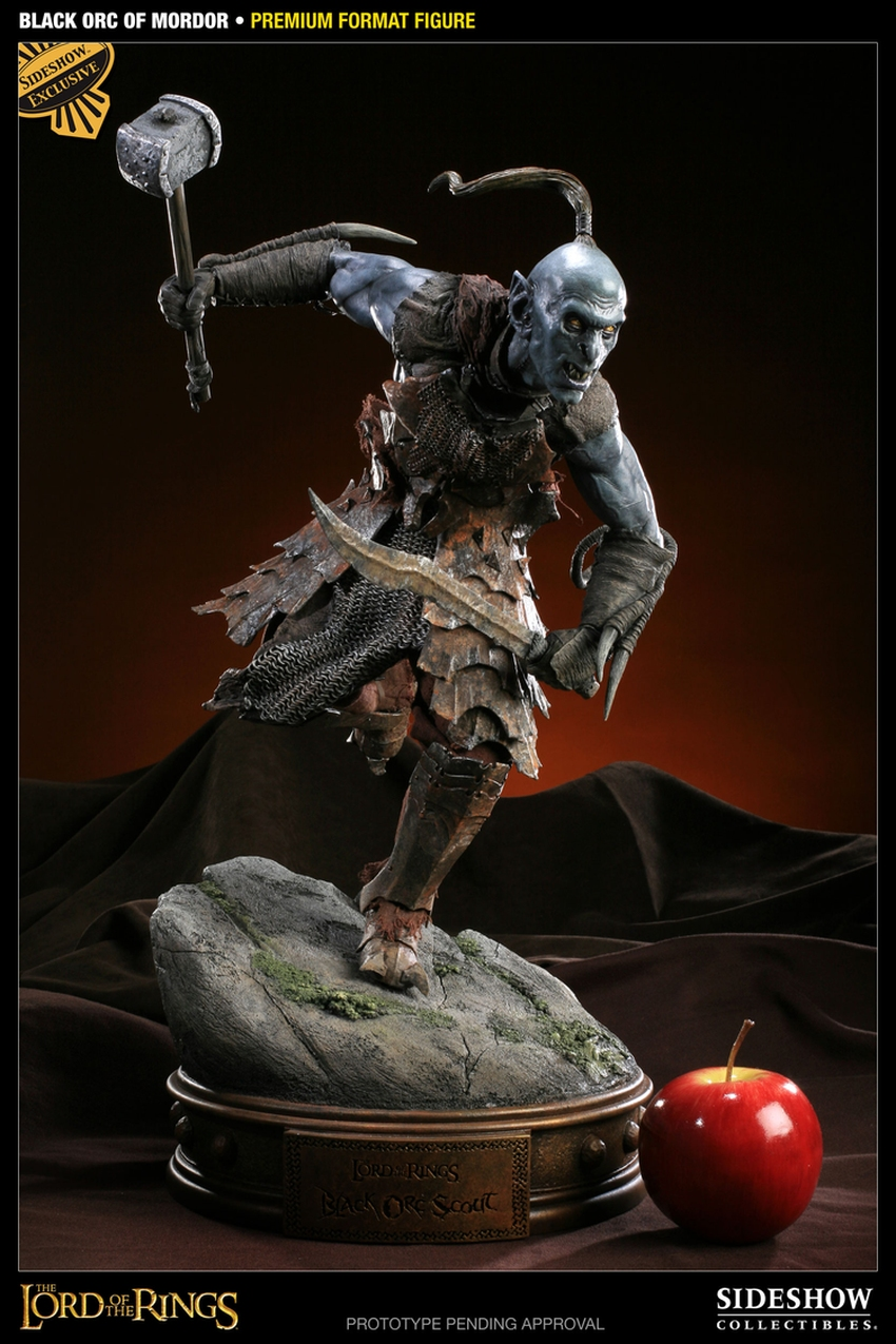 LOTR: BLACK ORC OF MORDOR Premium format Black-orc-of-mordor-premium-300075_press-08