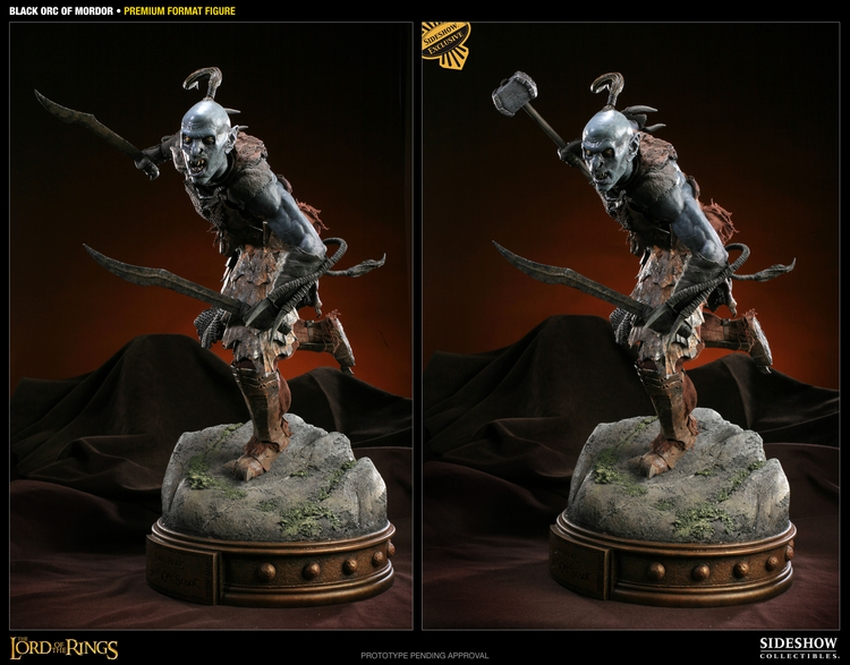 LOTR: BLACK ORC OF MORDOR Premium format Black-orc-of-mordor-premium-300075_press-10