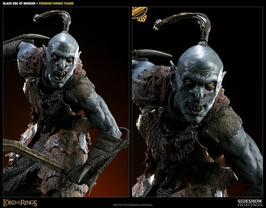 LOTR: BLACK ORC OF MORDOR Premium format Black-orc-of-mordor-premium-300075_press-11
