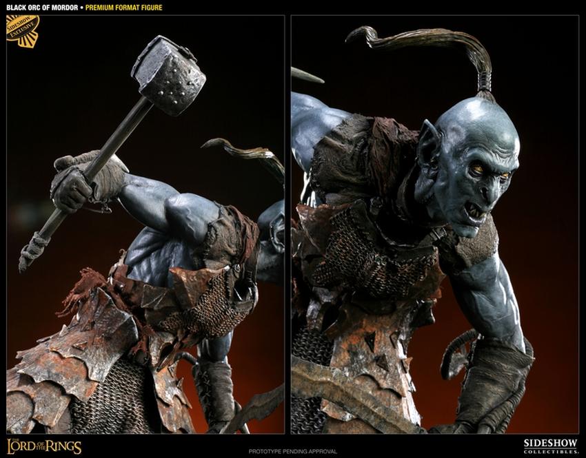 LOTR: BLACK ORC OF MORDOR Premium format Black-orc-of-mordor-premium-300075_press-12