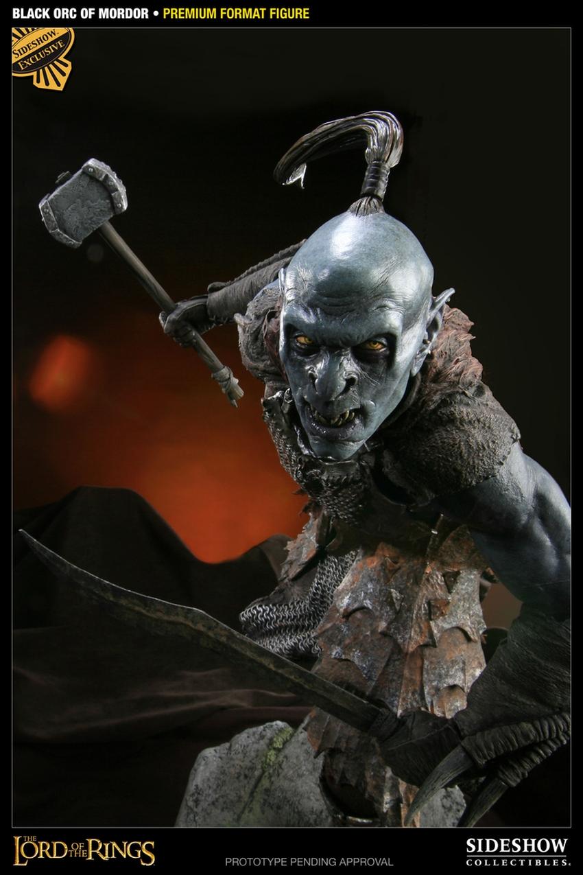 LOTR: BLACK ORC OF MORDOR Premium format Black-orc-of-mordor-premium-300075_press-14