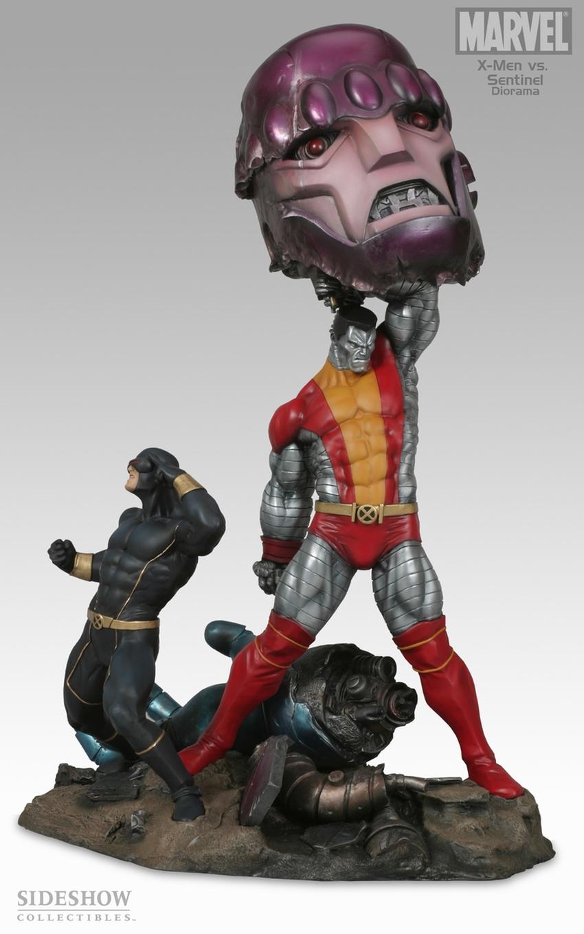 X-MEN VS THE SENTINEL #1 Diorama Sideshow-X-MEN-VS-SENTINEL-1-DIORAMA-9008_press-01