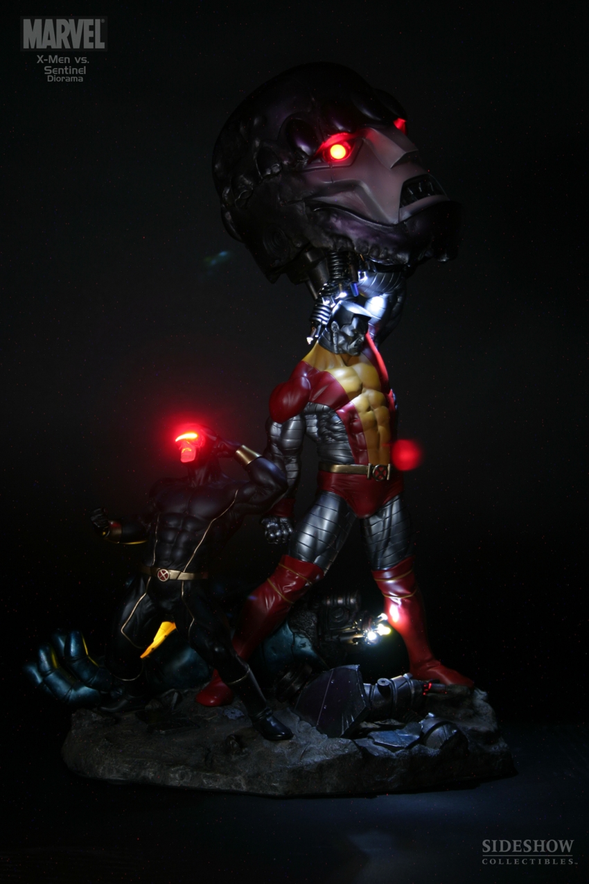 X-MEN VS THE SENTINEL #1 Diorama Sideshow-X-MEN-VS-SENTINEL-1-DIORAMA-9008_press-02