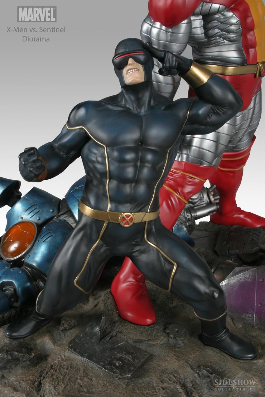 X-MEN VS THE SENTINEL #1 Diorama Sideshow-X-MEN-VS-SENTINEL-1-DIORAMA-9008_press-03