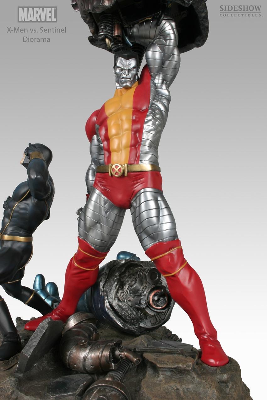 X-MEN VS THE SENTINEL #1 Diorama Sideshow-X-MEN-VS-SENTINEL-1-DIORAMA-9008_press-04
