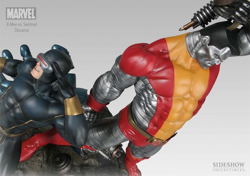 X-MEN VS THE SENTINEL #1 Diorama Sideshow-X-MEN-VS-SENTINEL-1-DIORAMA-9008_press-07