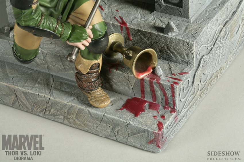 THOR VS LOKI Diorama Sideshow-thor-vs-loki-diorama-9009_press-04