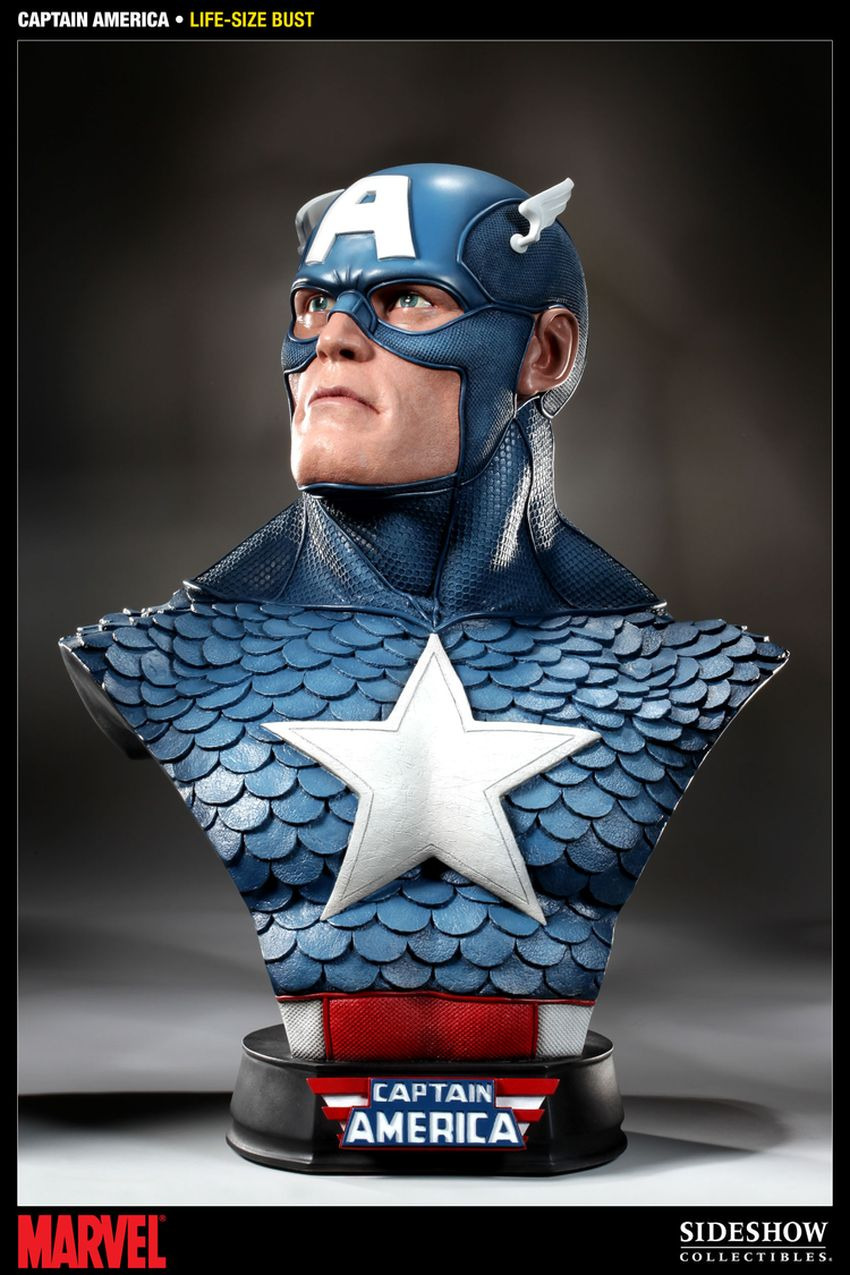 CAPTAIN AMERICA  Life size bust Captain-america-life-size-bust-400105_press-01