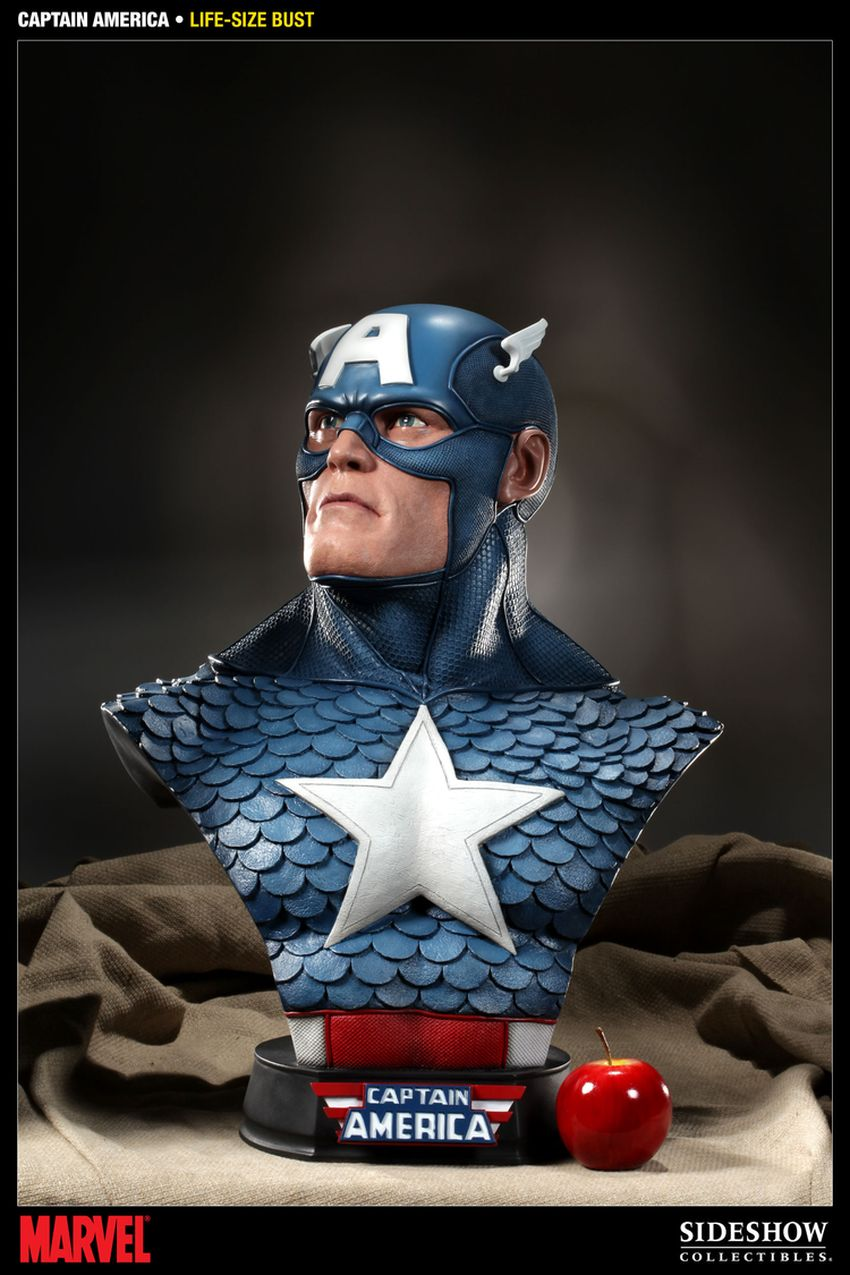 CAPTAIN AMERICA  Life size bust Captain-america-life-size-bust-400105_press-02