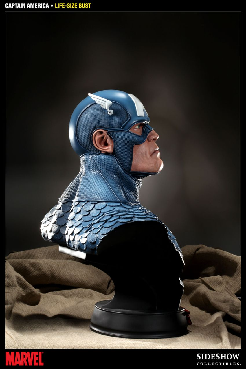 CAPTAIN AMERICA  Life size bust Captain-america-life-size-bust-400105_press-04