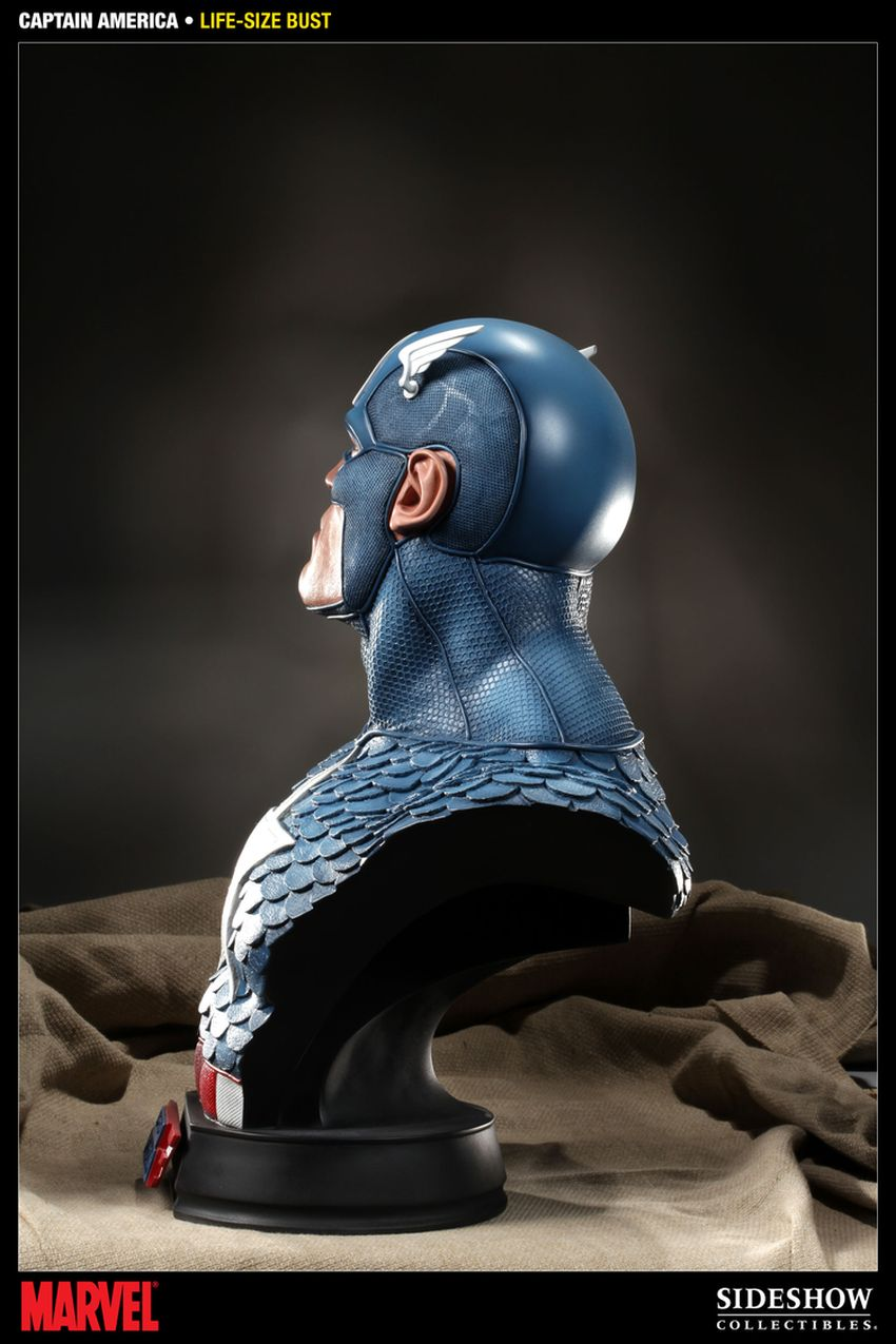 CAPTAIN AMERICA  Life size bust Captain-america-life-size-bust-400105_press-05