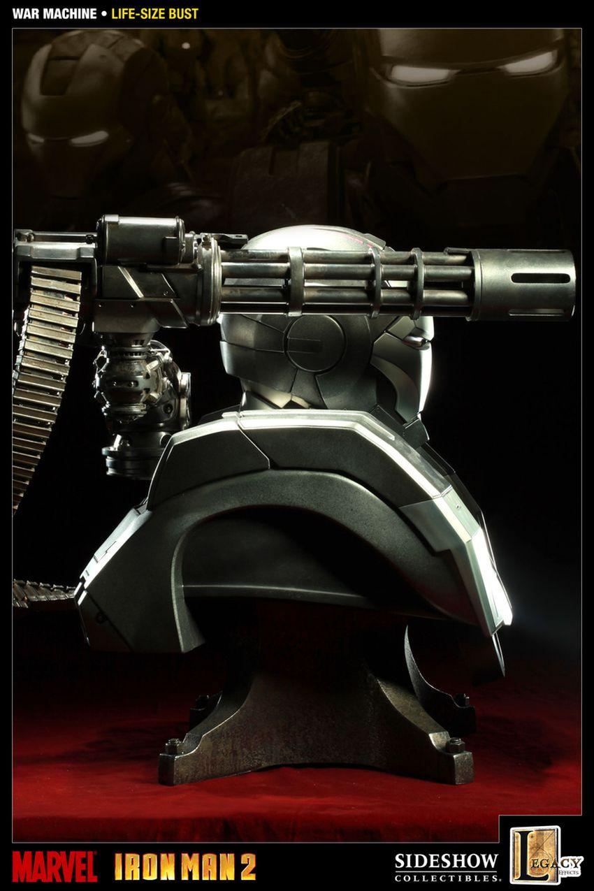 WAR MACHINE Life size bust War-machine-lize-size-bust-400039_press-05