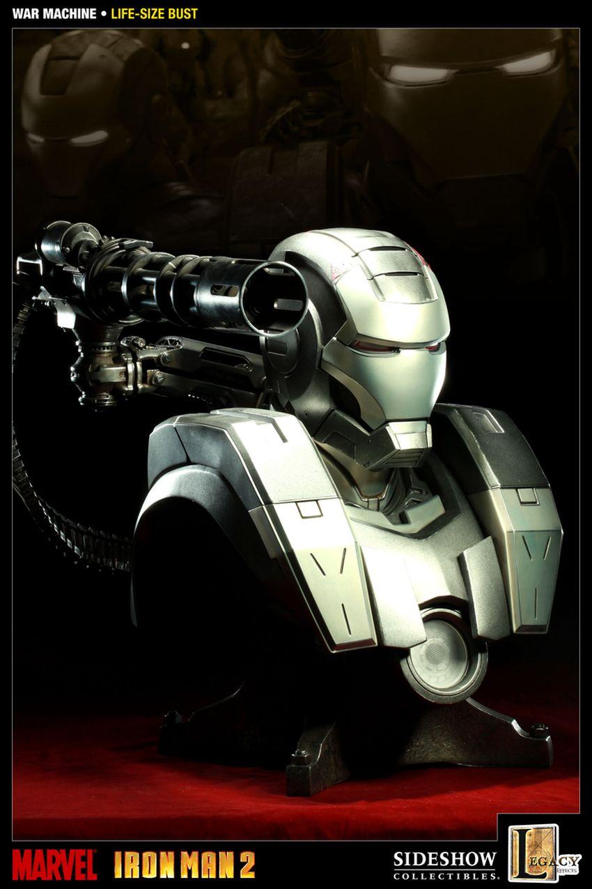 WAR MACHINE Life size bust War-machine-lize-size-bust-400039_press-06