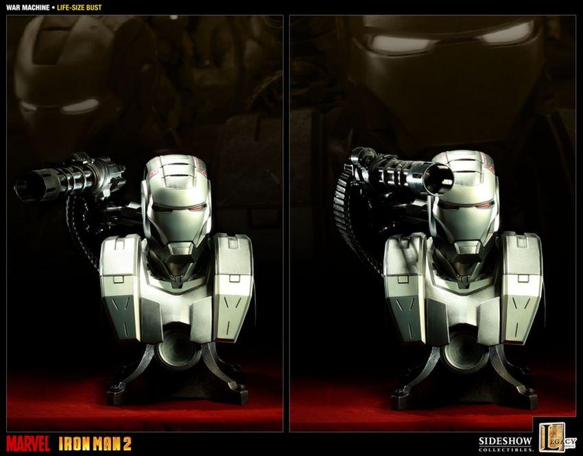 WAR MACHINE Life size bust War-machine-lize-size-bust-400039_press-07