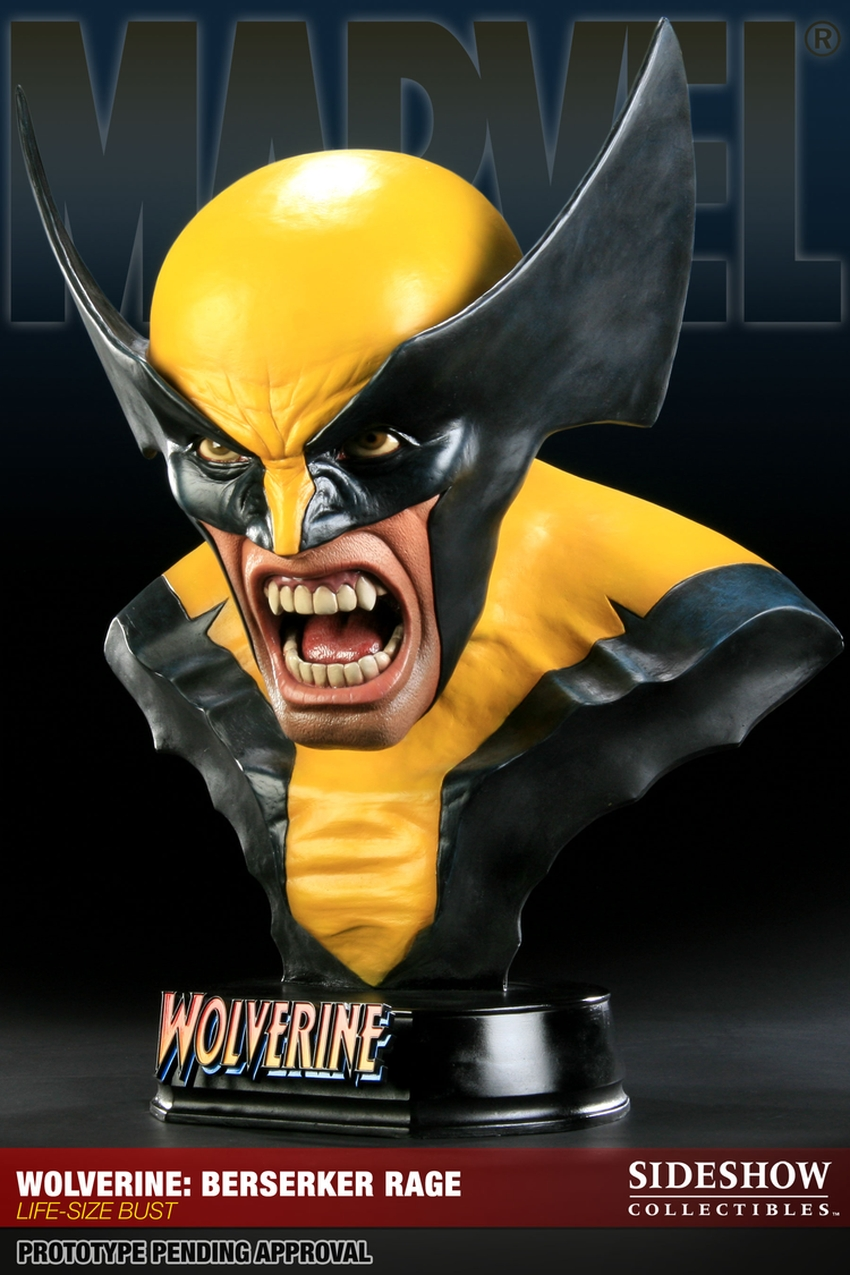 "WOLVERINE ""BERSERKER"" Life size bust  Wolverine-berserker-400034_press-01"