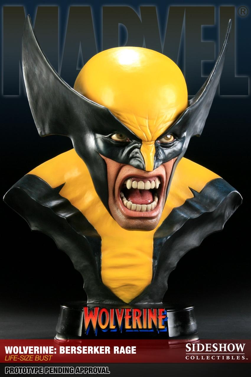 "WOLVERINE ""BERSERKER"" Life size bust  Wolverine-berserker-400034_press-02"