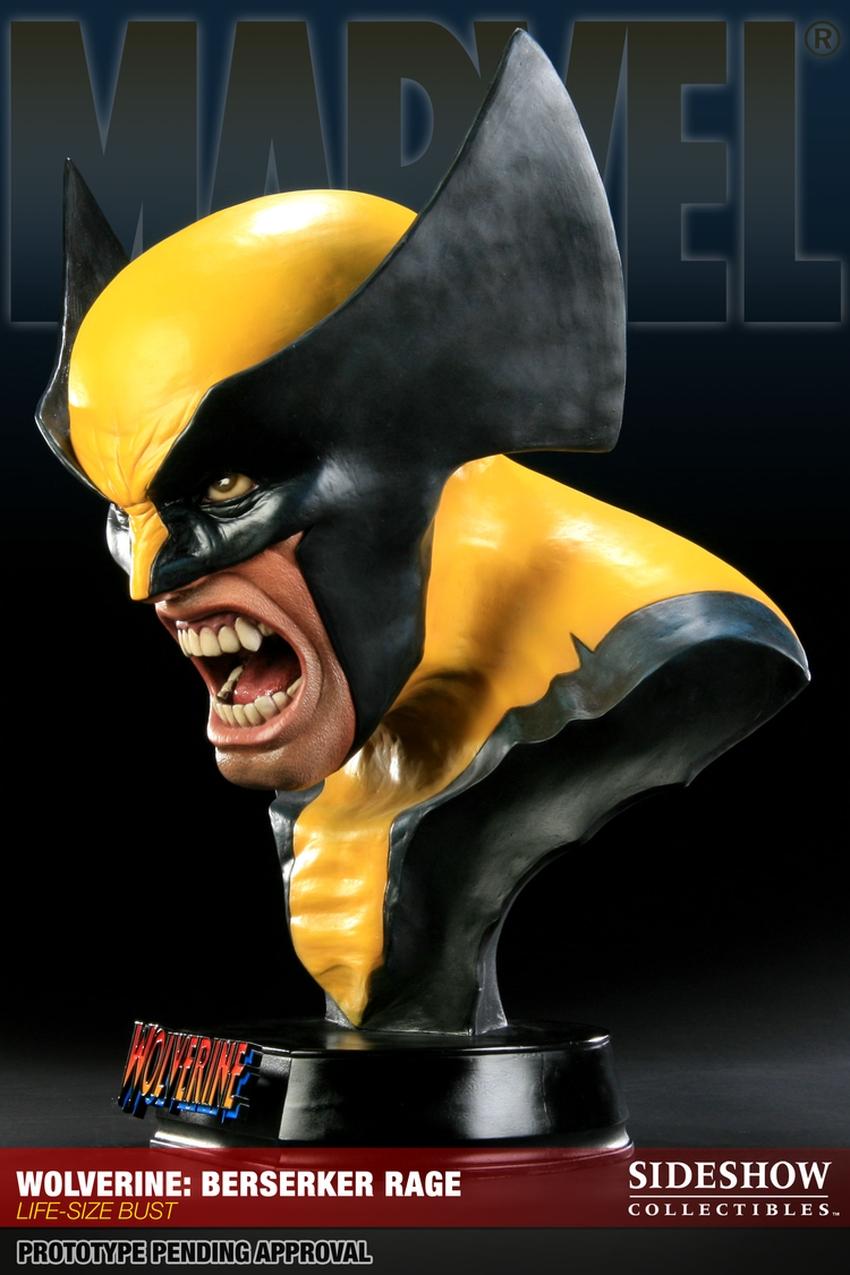 "WOLVERINE ""BERSERKER"" Life size bust  Wolverine-berserker-400034_press-03"
