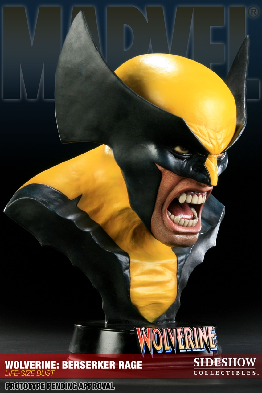 "WOLVERINE ""BERSERKER"" Life size bust  Wolverine-berserker-400034_press-05"