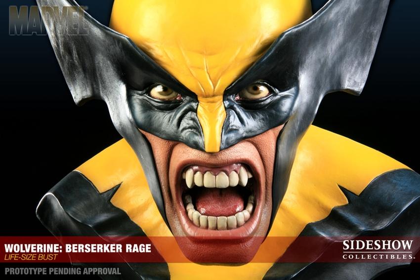 "WOLVERINE ""BERSERKER"" Life size bust  Wolverine-berserker-400034_press-06"