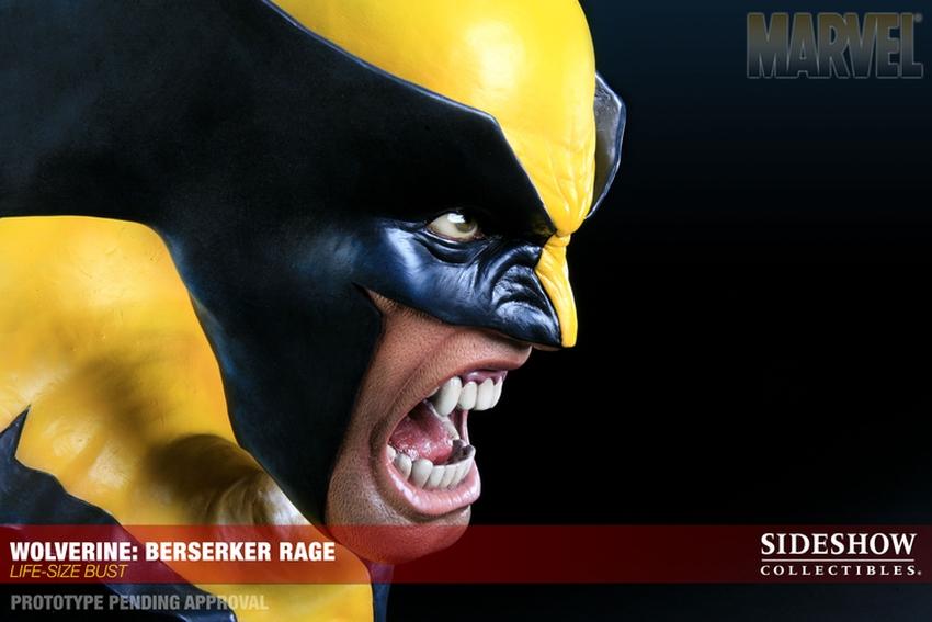 "WOLVERINE ""BERSERKER"" Life size bust  Wolverine-berserker-400034_press-09"