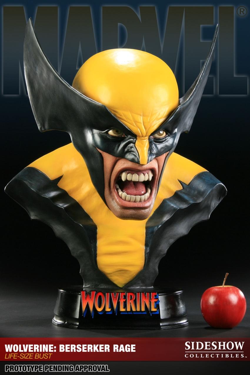 "WOLVERINE ""BERSERKER"" Life size bust  Wolverine-berserker-400034_press-10"