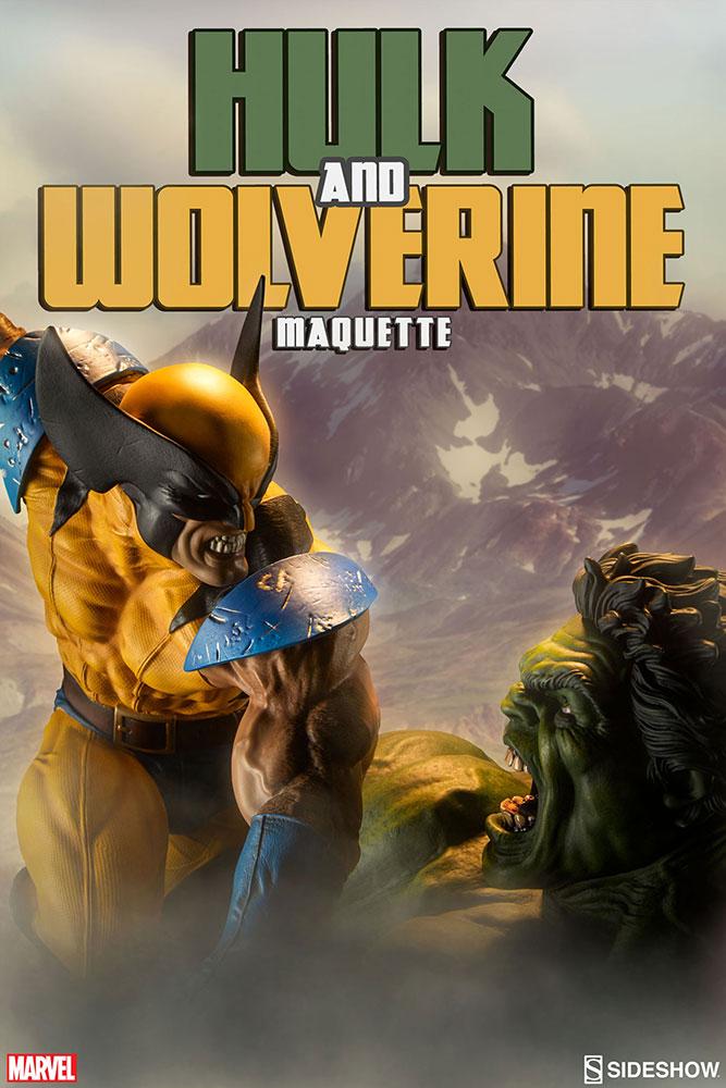 HULK VS WOLVERINE Maquette Marvel-hulk-and-wolverine-maquette-200216-01
