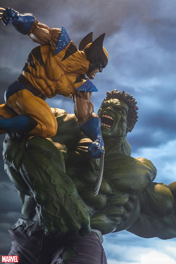 HULK VS WOLVERINE Maquette Marvel-hulk-and-wolverine-maquette-200216-02