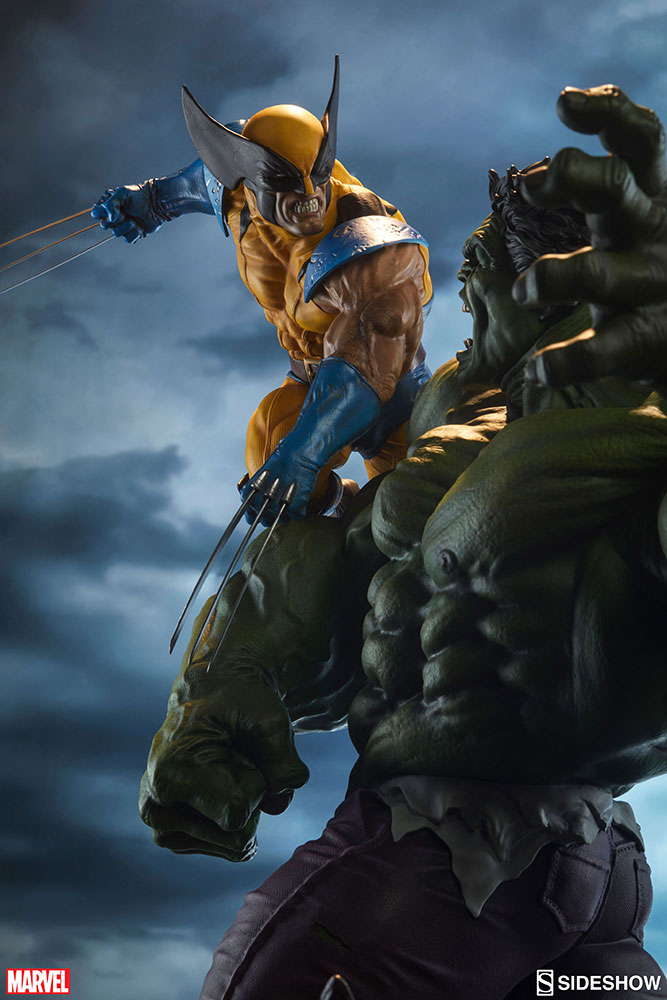 HULK VS WOLVERINE Maquette Marvel-hulk-and-wolverine-maquette-200216-05