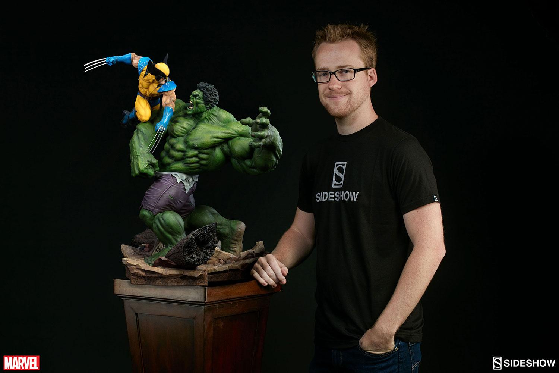 HULK VS WOLVERINE Maquette Marvel-hulk-and-wolverine-maquette-200216-06