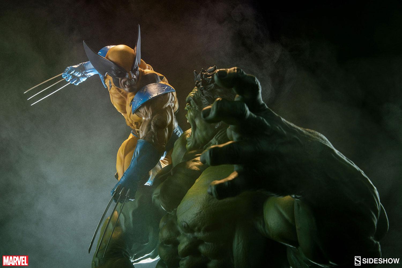 HULK VS WOLVERINE Maquette Marvel-hulk-and-wolverine-maquette-200216-07