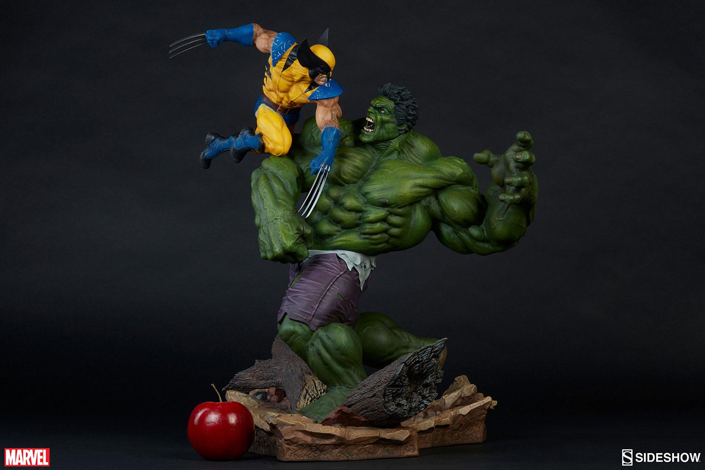 HULK VS WOLVERINE Maquette Marvel-hulk-and-wolverine-maquette-200216-09