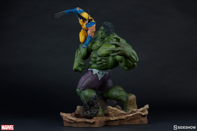 HULK VS WOLVERINE Maquette Marvel-hulk-and-wolverine-maquette-200216-10