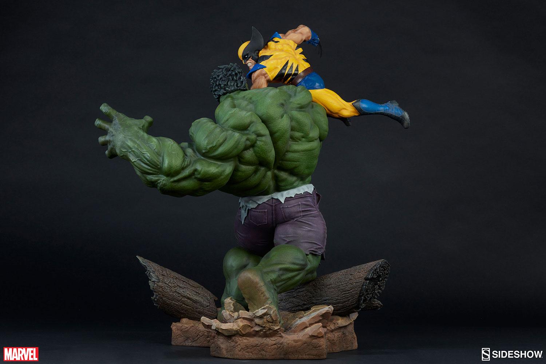 HULK VS WOLVERINE Maquette Marvel-hulk-and-wolverine-maquette-200216-11