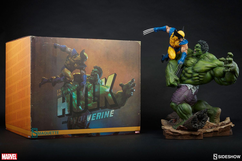HULK VS WOLVERINE Maquette Marvel-hulk-and-wolverine-maquette-200216-20