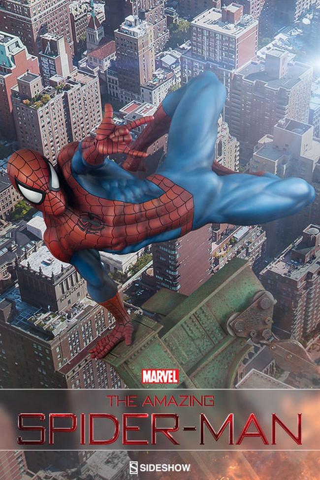 THE AMAZING SPIDERMAN Premium format Amazing-Spiderman-premium-Sideshow-01-Copier-