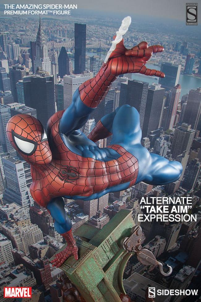 THE AMAZING SPIDERMAN Premium format Amazing-Spiderman-premium-Sideshow-02-Copier-