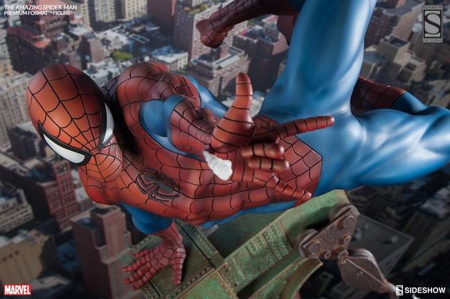 THE AMAZING SPIDERMAN Premium format Amazing-Spiderman-premium-Sideshow-03-Copier-